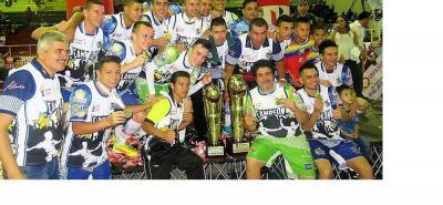El quinteto Deportivo Taz Santander logró su segundo título del año en la Copa Hero de Microfútbol profesional.