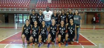 El quinteto femenino de Hormigas de Santander terminó subcampeón de la IV Copa Especial por la Paz de Baloncesto, que disputó su cuadrangular final en Bogotá el fin de semana.