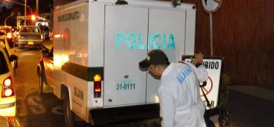 La Unidad Móvil del Laboratorio de Criminalística de la Sijín realizó la diligencia de levantamiento del cadáver, el cual fue entregado ayer a los familiares.