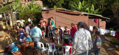 Esta es una parte del terreno recuperado. Durante múltiples jornadas de negociación la Alcaldía acordó el desalojo voluntario de 4 familias que ocupaban de manera irregular el lote en mención.