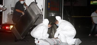 Una mujer murió al salir expulsada de un taxi tras choque en Bucaramanga