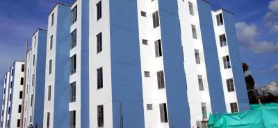 Apartamentos de 54 metros cuadrados se construyeron en el proyecto Colinas del Norte.