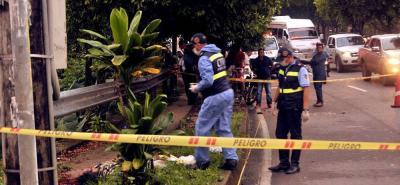 El accidente se presentó en horas de la madrugada del pasado 8 de diciembre, en inmediaciones a la entrada del barrio Villa de Leyva.