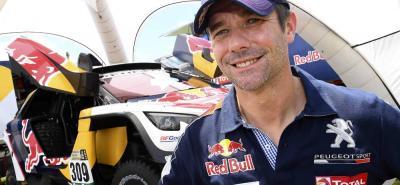 """El francés Sebastien Loeb, nueve veces campeón del mundo del Mundial de Rallies, se mostró """"ambicioso"""" de cara a sus aspiraciones en el Dakar-2017."""
