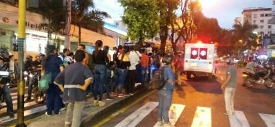 Murió hombre que fue arrollado por bus convencional en Bucaramanga
