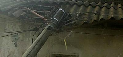 Caída de red eléctrica dejó  sin luz a cinco mil usuarios en Bucaramanga