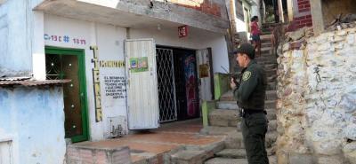 Esteban Betancur quedó tendido cerca a la casa de su hermano y no alcanzó a pedir ayuda.