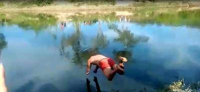 Posible calambre generó que joven se ahogara en un río en Santander