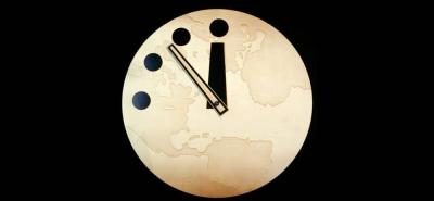 """El BAS indicó que el peligro de un desastre global es """"aún mayor"""" en 2017, por lo que han decidido mover las agujas 30 segundos adelante."""