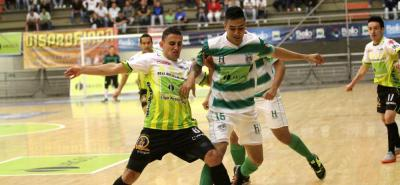 Real Bucaramanga recibirá esta noche, a las 7:45 p.m., a Bello Real Antioquia, en el partido de vuelta de la final de la Superliga Águila de Fútbol Sala, y necesitará revertir la desventaja que tiene de dos goles.