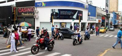 La medida del Pico y Placa fue rechazada desde un comienzo por los comerciantes del Centro.