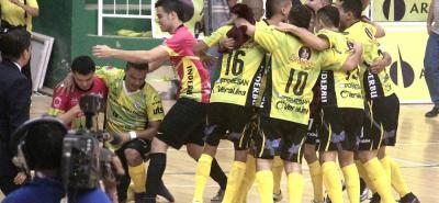 Real Bucaramanga, vigente campeón de la Liga Argos de Fútbol Sala, iniciará hoy en Neiva, la defensa de su título.