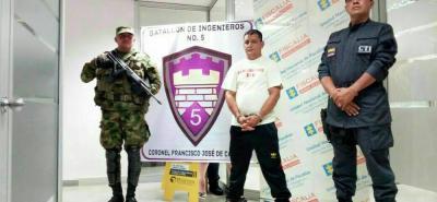 Arrestan en Girón a un cabecilla de la guerrilla del Eln