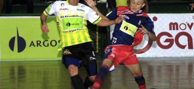 Real Bucaramanga superó 7-2 a Atlético Dorada, en compromiso correspondiente a la tercera jornada de la Liga Argos de Fútbol Sala Fifa, que se realizó en la 'Ciudad Bonita'.