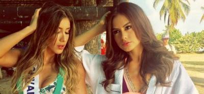 Las candidatas a la corona del Concurso Nacional de Belleza 2017, en Cartagena.