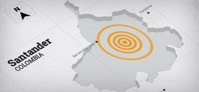 Fuerte sismo despertó a Bucaramanga este martes