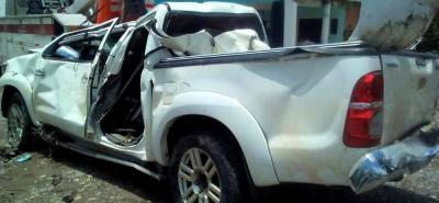 Al parecer las malas condiciones en materia de visibilidad que a esa hora había en la carretera podría haber sido una causa de la pérdida de control del vehículo por parte de su conductor.