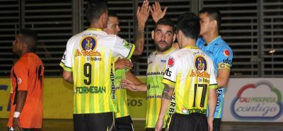 Real Bucaramanga sigue su campaña perfecta en la Liga Argos y ajustó su cuarta victoria y está muy cerca de avanzar a la siguiente ronda del torneo, del cual es el actual campeón.