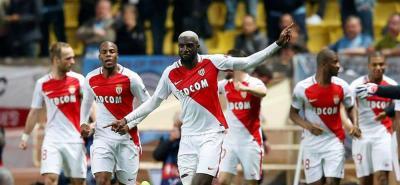 Sin Falcao, Mónaco venció 3-0 al Caen y se aleja en la punta de la liga de Francia
