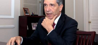 Rafael Pardo Rueda, alto consejero para el Posconflicto.