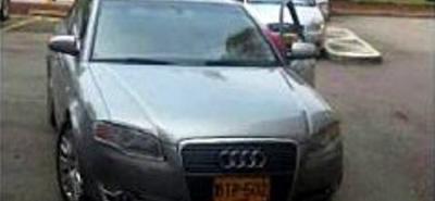 Un año después del robo, El vehículo fue hallado en el sur de Bogotá.