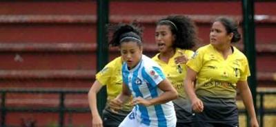 Aunque no ha podido marcar en la Liga Femenina, Paola García es una de las jugadoras claves que tiene Real Santander en el fútbol profesional.