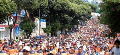 La edición 14 del ¼ de Maratón Ciudad de Bucaramanga está programada para disputarse el domingo 22 de octubre.