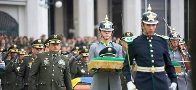 Con honores fue sepultado jefe de la Sijín asesinado en Norte de Santander