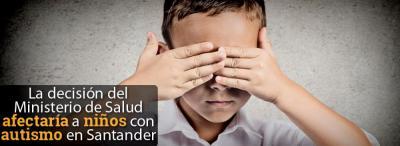 Familiares de niños con autismo en Santander se oponen al cambio del POS.