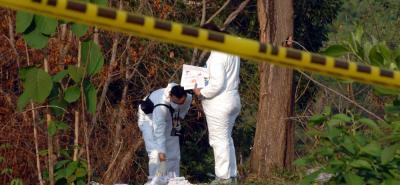 El hallazgo del cuerpo sin vida se registró en un sector boscoso del barrio Nueve de Abril.