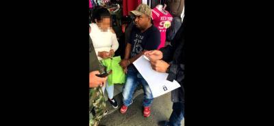 En el centro de Medellín fue capturado Jamer Hernández, presunto cabecilla del 'Clan del Golfo'.