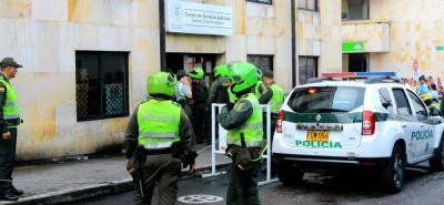 El pasado martes los presos que estaban retenidos en el Centro de Servicios Judiciales organizaron un motín.