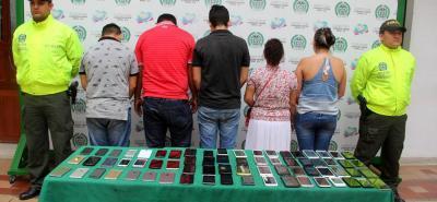 Desarticulan banda dedicada al tráfico de celulares hurtados en Bucaramanga