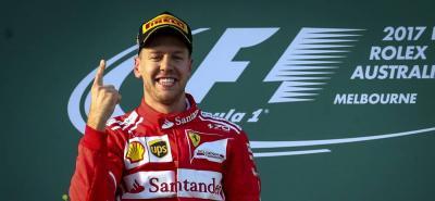 No se subía un piloto de rojo a lo más alto de un podio de la Fórmula Uno desde hace año y medio.