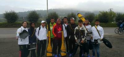 Esta es la delegación de piragüistas de Santander que compitieron el fin de semana en el clasificatorio a selección Colombia realizado en Paipa, Boyacá, logrando nueve cupos al equipo nacional, en categoría junior, para disputar el Suramericano de Canotaje en abril próximo.