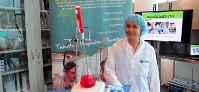 Con la investigación, María Camila Guevara Paredes, aprendiz de Tecnoacademia Bucaramanga, ha ganado medallas de oro y plata en los concursos de Infomatrix Sudamérica realizados por Solacyt.