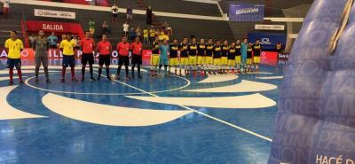 La selección Colombia tuvo un excelente comienzo en la Copa América de Fútbol Sala que se desarrolla en Argentina, tras golear 9-1 al representativo de Ecuador.