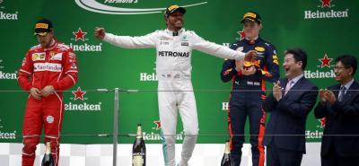 Hamilton se toma la revancha contra Vettel en la Fórmula 1