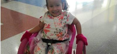 EPS retrasa tratamiento y cirugías a niña en condición de discapacidad en Santander