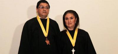 El rector José de Jesús Moreno Ruíz y la profesora Mariana de Jesús Chaparro García fueron exaltados ayer como los educadores escolares más destacados de Santander.