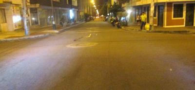 En la calle 10 con carrera 24 ocurrió el accidente de tránsito que le costó la vida a Eduviges Carvajal Gelves, de 50 años.