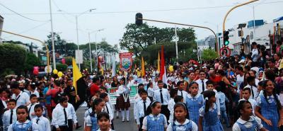 El tradicional desfile cívico con motivo del aniversario de Barrancabermeja se realizará el miércoles, 26 de abril, a las 4:00 p.m., en la Avenida del Ferrocarril.