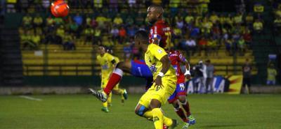 Atlético Bucaramanga superó anoche 1-0 a Pasto y quedó a un paso de ingresar al grupo de los ocho mejores de la Liga Águila I de 2017.