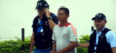 El pasado viernes fue conducido al Palacio de Justicia de Barrancabermeja el hombre acusado de  abuso sexual contra menor de 14 años.