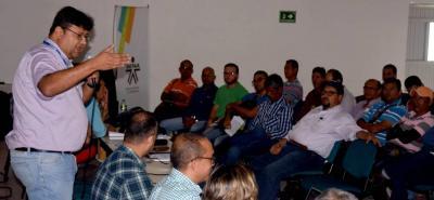La reactivación de la Subcomisión de Concertación Laboral se llevó a cabo en el auditorio del Sena.