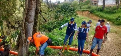 Las labores de control se realizan desde el fin de semana por parte de los organismos de socorro y la Gobernación.