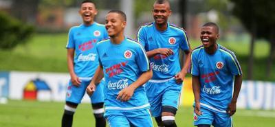 La Selección Colombia Sub17 trabaja para el Mundial de la India