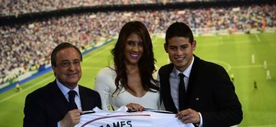 "Daniela ospina aseguró que James ""se quiere quedar en Real Madrid"""