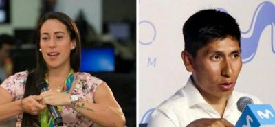 Mariana Pajón dijo que no tiene diferencias personales con Nairo Quintana