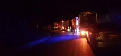 Motociclista murió en la vía San Gil – Bucaramanga